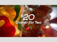 Chili's TV Commercial For $20 Dinner for Two   iSpot.tv