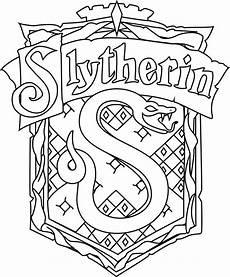 Harry Potter Wappen Malvorlagen Slytherin Crest Harry Potter Coloring Pages Harry