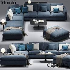 Home Usa Sofa 3d Image by Minotti Andersen Sofa 3d Model In 2020 Living Room Sofa