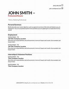 Resume In Australia Free Resume Templates Download How To Write A Resume In