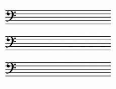 Blank Sheet Music Bass Clef Blank Sheet Music Landscape Kid Sized Bass Clef