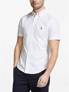 ralph sleeve polo shirts for polo ralph sleeve shirt white at lewis
