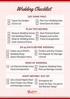 Complete Wedding Checklist Wedding Planning Checklist For A Stress Free Day