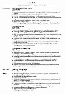 Video Editor Resume Freelance Video Editor Resume Examples Best Resume Ideas