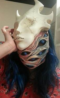 Demon Mask Designs Demon Mask Halloween Mask Etsy Masks Art Halloween