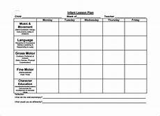 Printable Toddler Lesson Plans Toddler Lesson Plan Template 9 Free Pdf Word Format