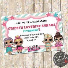 undangan ultah anak lol kartu undangan ulang tahun lol kata kata mutiara
