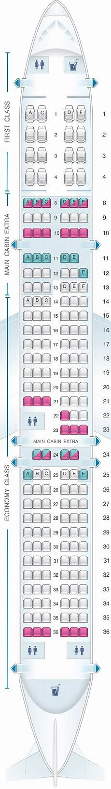Airbus A320neo Seating Chart Seat Map American Airlines Airbus A321 181pax Seatmaestro