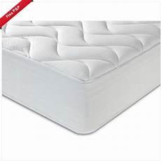 new sprung mattress 3ft 4ft 6 5ft memory foam topped