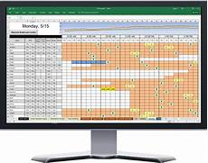 Call Schedule Template Powerful Excel Based Scheduler For Call Center Agent