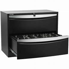 stilford 2 drawer lateral filing cabinet black ebay