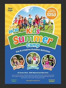 Camp Flyer Template Free 30 Summer Camp Flyer Psd Templates Free Amp Premium Designyep