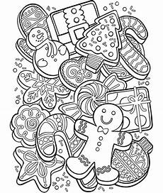 cookie collage coloring page crayola