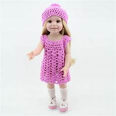 cheap american doll clothes aliexpress buy wholesale dolls clothes purple knit