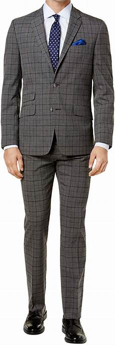 Ben Sherman Suit Size Chart Ben Sherman Mens Suit Gray Size 44 Short Stretch Slim Fit