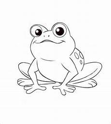 Malvorlage Frosch Mit Krone Frog Template Animal Templates Free Premium Templates