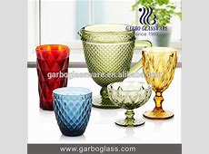 Wholesale Glassware Suppliers Handmade Colored Glass