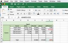 Making A Budget Planner How To Make A Budget In Excel Our Simple Step By Step Guide