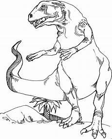 Malvorlagen Dinosaurier T Rex Grosser T Rex Ausmalbild Malvorlage Tiere