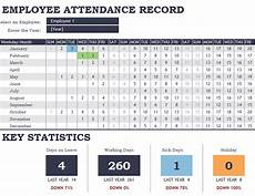 Employee Attendance Tracker Excel 2020 Affordable Templates Employee Absence Tracking Excel Template