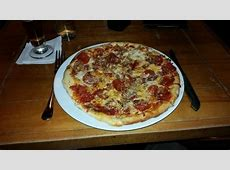 My pizza for dinner   Picture of Max Lager's Wood Fired