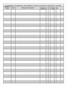 Check Ledger Printable Check Register Printable Checks Printable