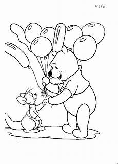 Disney Malvorlagen Winnie Pooh Winnie Puh Mit Luftballons Ausmalbild Malvorlage Sonstiges