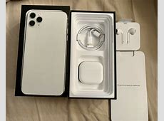 Apple iPhone 11 Pro Max 256 GB Silver   Listings