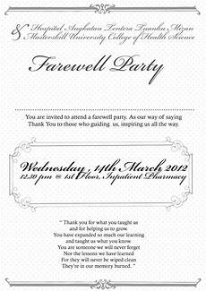 Farewell Invitation Email Job Quotes Farewell Invitation Quotesgram