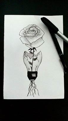 una flor en un mundo desenhos inspiradores