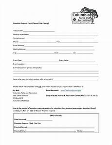 Donation Form Template 9 Donation Application Form Templates Free Pdf Format