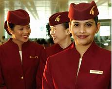 qatar cabin crew award winning uniforms qatar airways olino solution