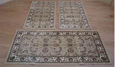 tappeti da letto w525 tappeti letto 3 pezzi parure tris orientali