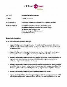 Operations Associate Job Description Assistant Operations Manager Job Description Midland Mencap