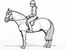 Malvorlage Pferd Zum Ausdrucken Ausmalbilder Pferde Mit Reiterin Ausmalbilder Pferde
