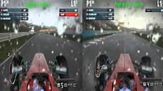 F1 Rain Light F1 2012 Light Rain Vs Heavy Rain Youtube