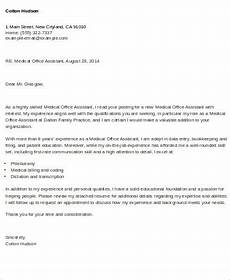 Medical Office Letter Templates Free 9 Sample Cover Letter For Office Assistant In Ms Word