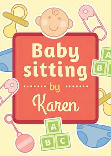 Babysitter Available Ads Customize 57 Babysitting Flyer Templates Online Canva