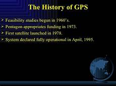 History Of Gps How Gps Works