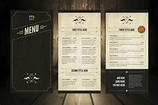 Menu Layout Elegant Food Menu 5 Illustrator Template By Luuqas On