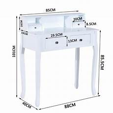 this homcom dressing table is a great addition to any