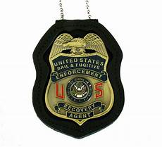 Bail Recovery Agent Us Bail Enforcement Amp Fugitive Recovery Agent Badge Solid