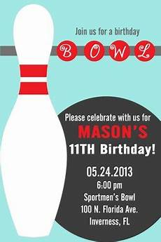Free Printable Bowling Party Invitations For Kids Diy Printable Boy Or Girl Bowling Party Invitations