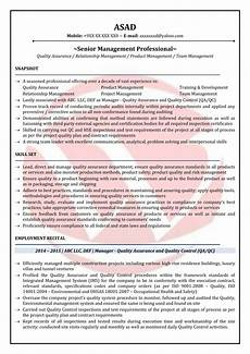 Qa Qc Resume Samples Qa Manager Sample Resumes Download Resume Format Templates