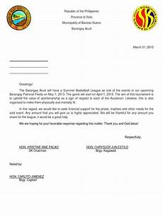 Sample Of Letter Of Solicitation For Donation Sle Of Solicitation Letter Solicitation Letter