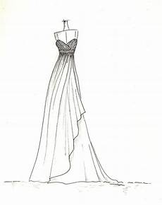 Dress Designing Sketches Dress Sketch Of Your Special Dress A Perfect Gift