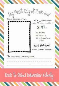 First Day Of Preschool Template First Day Of Preschool Quotes Quotesgram