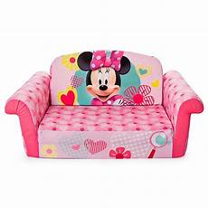 marshmallow disneyl 174 minnie mouse flip open sofa bed