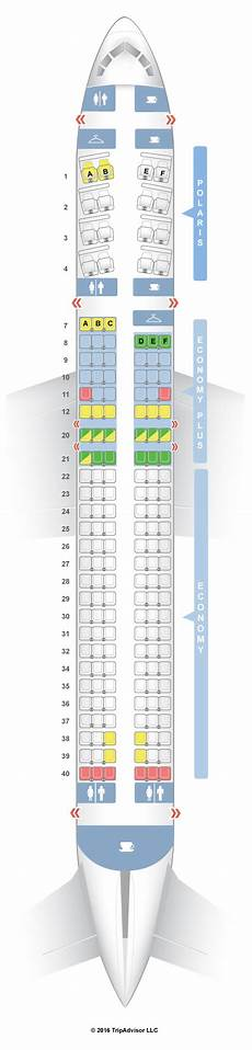 Lot Airlines Seating Chart Seatguru Seat Map United Boeing 757 200 752 V1 Intl