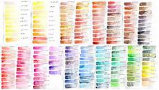 Daniel Smith Watercolor Color Chart Daniel Smith Watercolor 238 Dot Color Chart Google